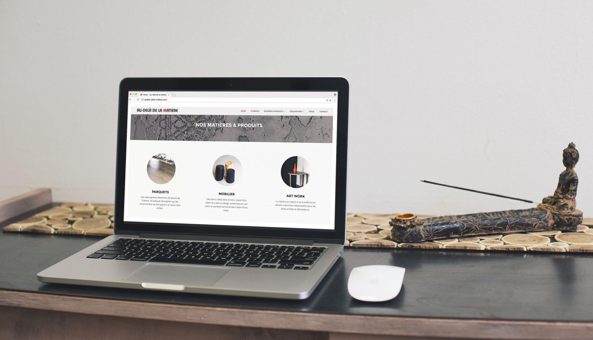 Site web Showroom