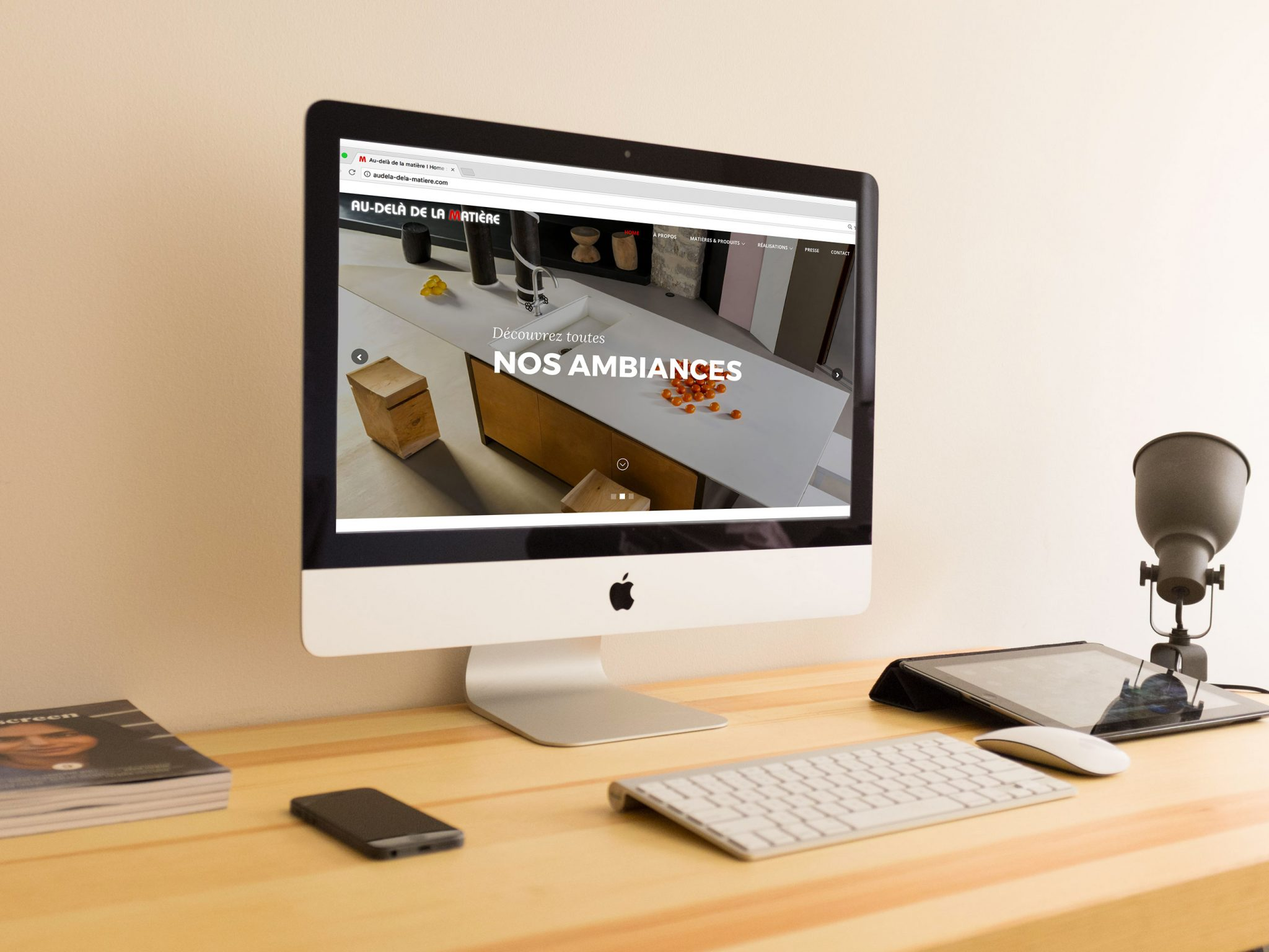 Site web Showroom