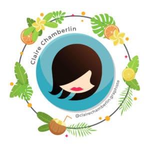 Claire Chamberlin Graphiste sur Nice I Besoin d'une graphiste indépendante ?