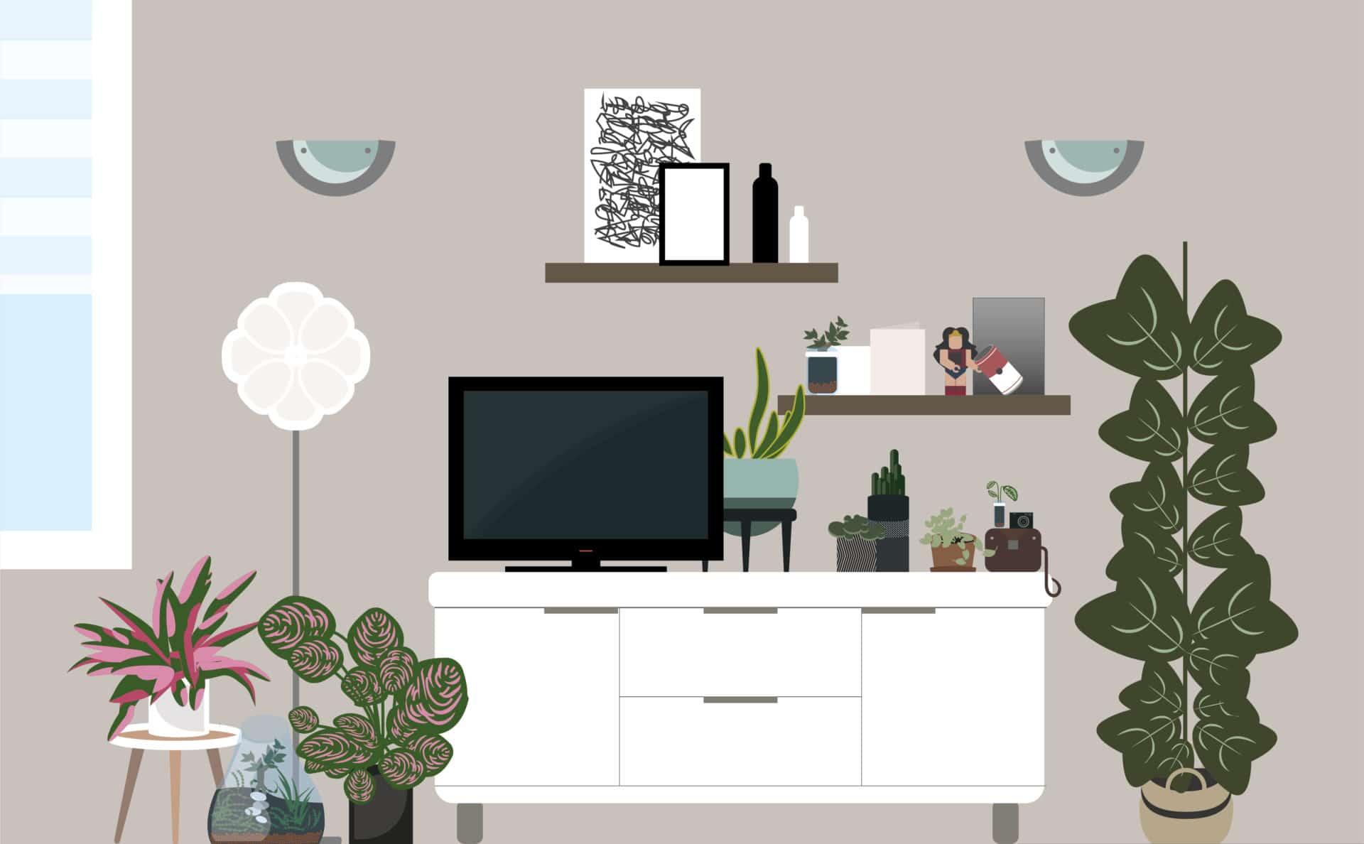 salon flat design claire chamberlin designer graphique